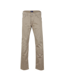 Gant Mens Brown Straight Desert Jean