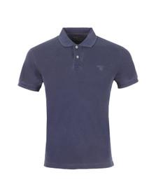 Gant Mens Blue Sunbleached Pique Rugger Polo