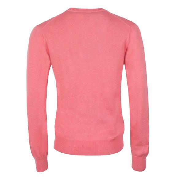Gant Mens Pink V Neck Jumper main image