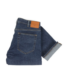 Gant Mens Blue Straight Leg Jean