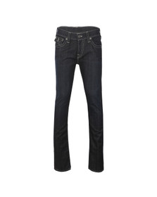 True Religion Mens Blue Rocco With Flap Jean