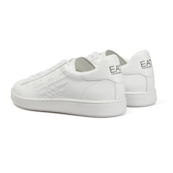 EA7 Emporio Armani Mens White New Classic Trainer main image