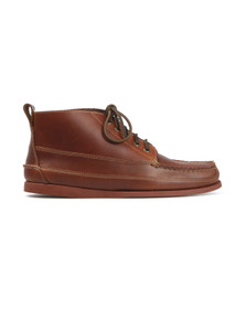 G H Bass & Co Mens Brown Ranger Mid Shoe
