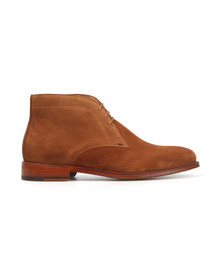 PS by Paul Smith Mens Brown Morgan Suede Boot
