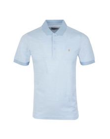 Farah Mens Blue Elstead Polo Shirt