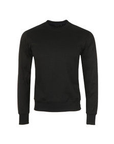 Paul Smith Jeans Mens Blue Perforated Sweatshirt