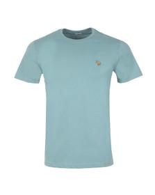 Paul Smith Jeans Mens Blue Zebra Badge Crew T-Shirt
