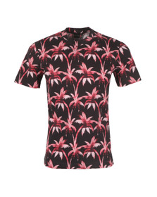 PS by Paul Smith Mens Pink Printed T Shirt