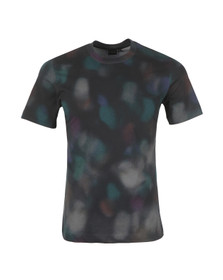 PS by Paul Smith Mens Blue Printed T Shirt