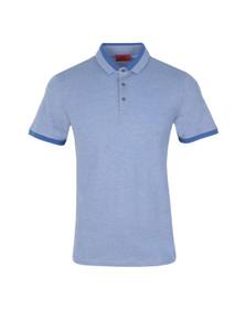 Hugo Mens Blue Denno Polo Shirt