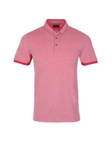 Hugo Mens Red Denno Polo Shirt