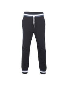 Boss Mens Blue Contrast Trim Sweatpant
