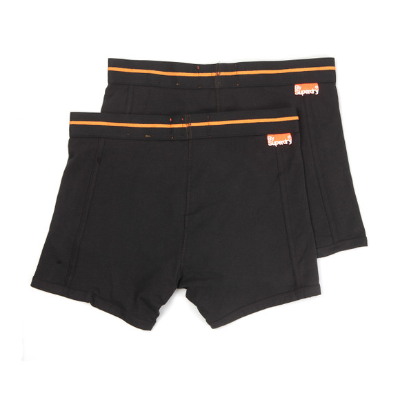 Superdry Mens Black Sport Boxer Double Pack main image