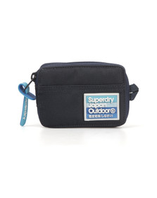 Superdry Mens Blue Silicone Montana Wallet