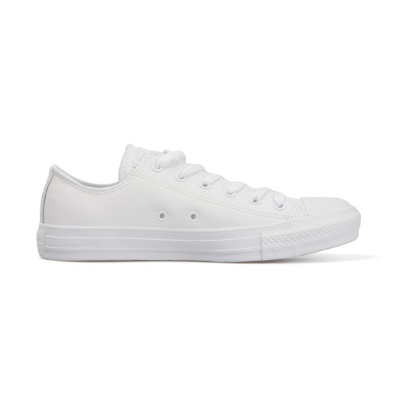 Converse Mens White All Star Leather Ox main image