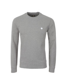 Pretty Green Mens Grey Foxlair Sweatshirt