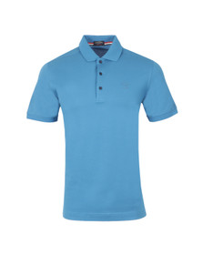 Paul & Shark Mens Blue Knitted SS Polo