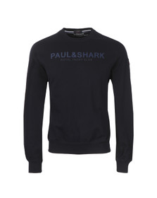 Paul & Shark Mens Blue LS Crew Neck Sweatshirt
