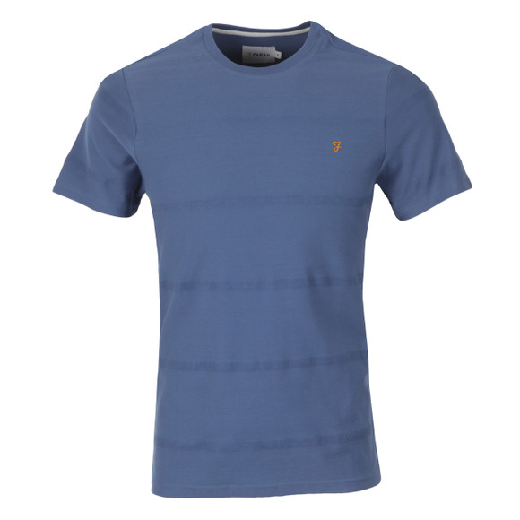 Farah Mens Blue Dutchy T Shirt main image