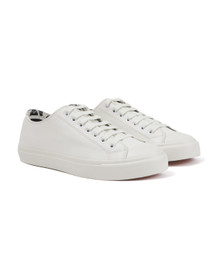 Paul Smith Jeans Mens White Indie Trainer