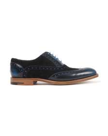 Barker Mens Blue Grant Shoe