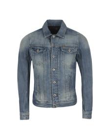 Diesel Mens Blue Elshar Denim Jacket