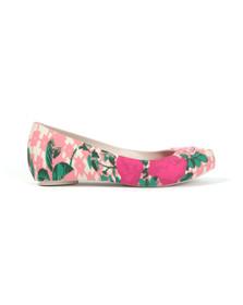 Vivienne Westwood Anglomania X Melissa Womens Pink Ultragirl Flower Orb Shoe