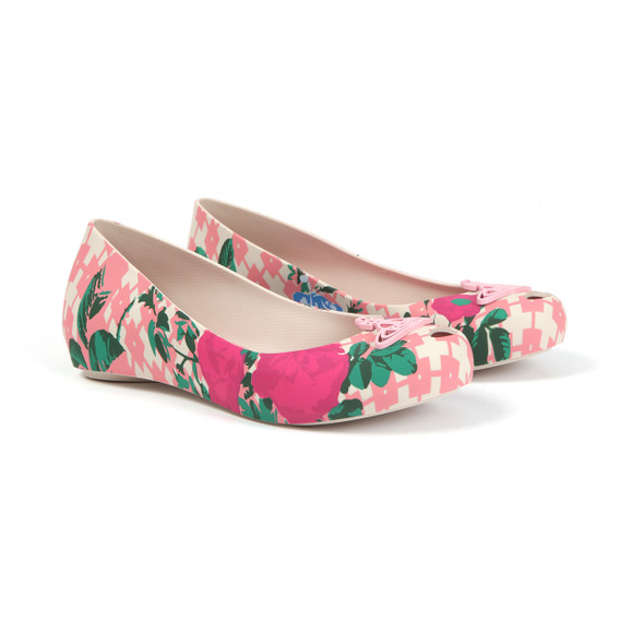 Vivienne Westwood Anglomania X Melissa Womens Pink Ultragirl Flower Orb Shoe main image