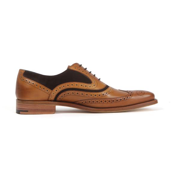 Barker Mens Brown McClean Shoe main image