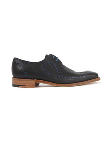 Barker Mens Blue Woody Shoe
