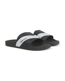 Diesel Mens Black Sa-Maral Sandal