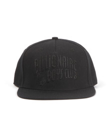 Billionaire Boys Club Mens Black Arch Logo Snapback