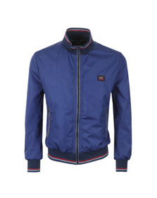 Paul & Shark Mens Blue Short Blouson Jacket