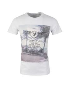 Diesel Mens White Diego FS T Shirt