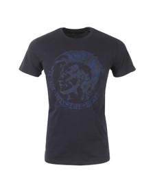 Diesel Mens Blue Diego FR T Shirt