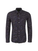 Slim Allover Patterned Shirt