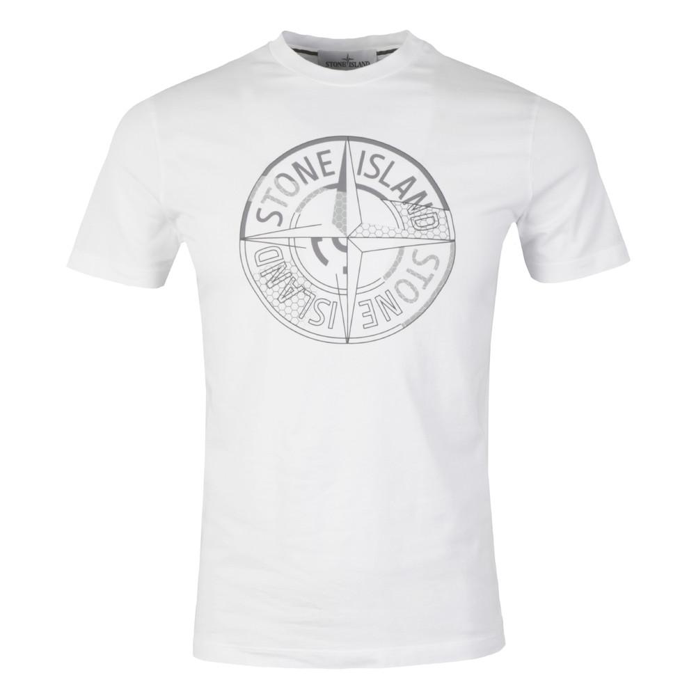 92ed297cb755 Stone Island Reflective Compass T Shirt