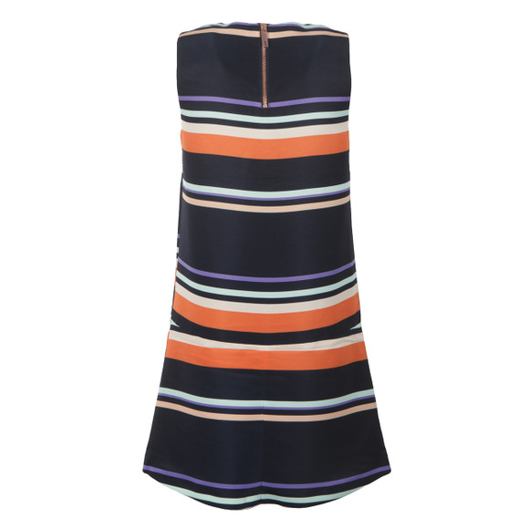 Ted Baker Womens Blue Damica Tribal Stripe Fold Skirt Tunic main image