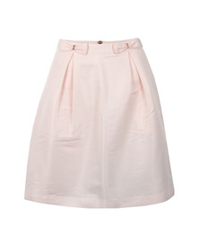 Ted Baker Womens Pink Pheobie Double Bow Mini Skirt