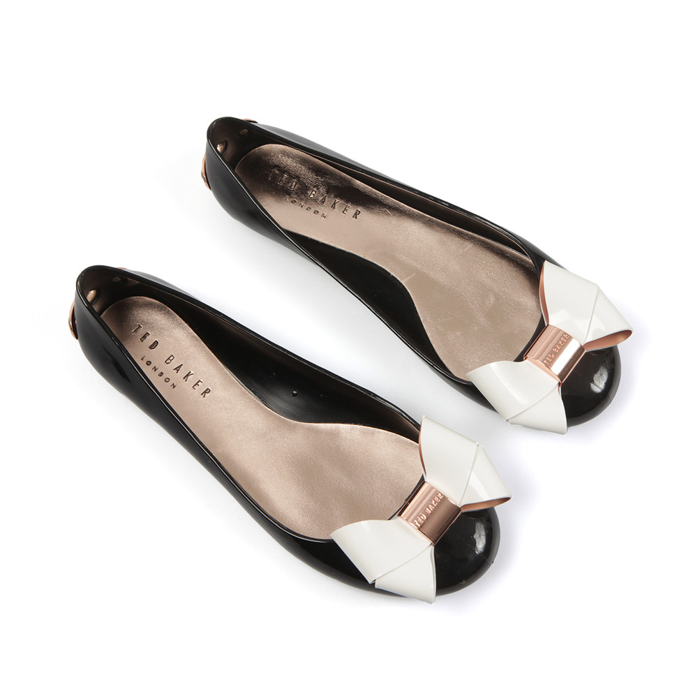 636454a61bba Ted Baker Faiyte Large Bow Jelly Pumps