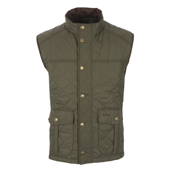 Barbour Sporting  Mens Green Explorer Gilet main image
