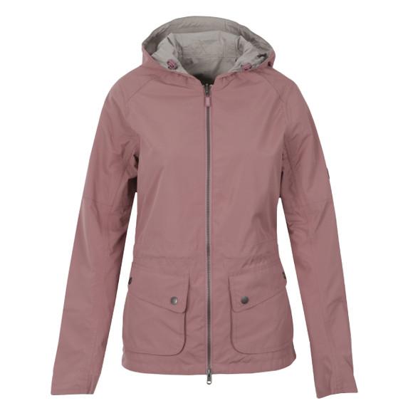 Barbour International Womens Purple Delter Jacket