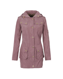 Barbour International Womens Purple Delter Casual Jacket