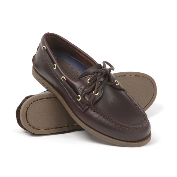 Sperry Mens Brown Authentic Original Boat Shoe main image