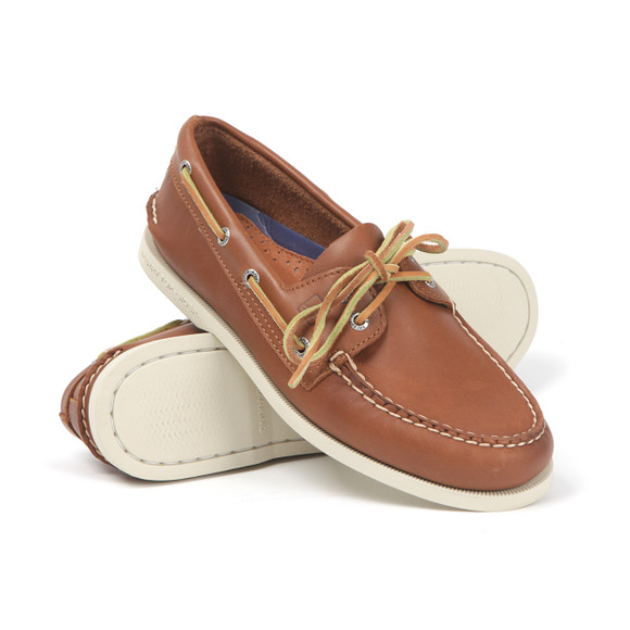 Sperry Mens Brown Authentic Original Boat Shoe