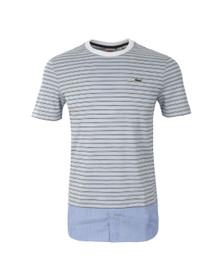 Lacoste Live Mens Blue TH5160 T-Shirt