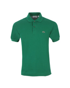Lacoste Mens Green L1212 Yucca Plain Polo Shirt