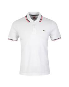 Lacoste Live Mens White Polo Shirt PH9542