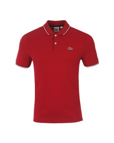 Lacoste Live Mens Red Polo Shirt PH9542