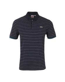 Lacoste Live Mens Blue Polo Shirt PH5175